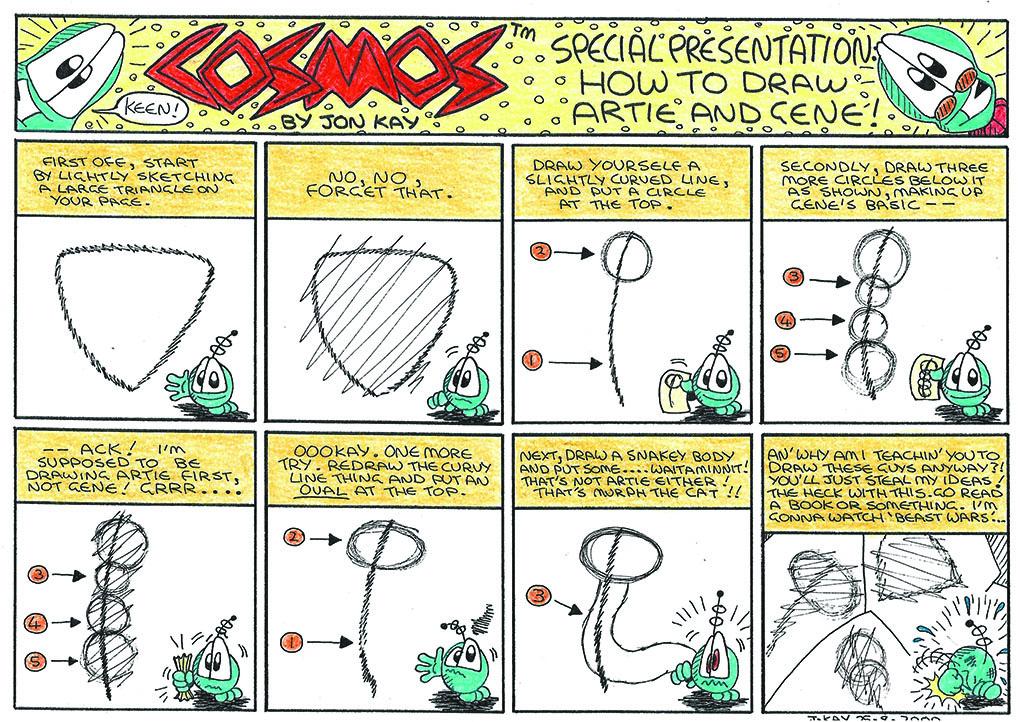 AMOS 4: Drawing lesson (2000)