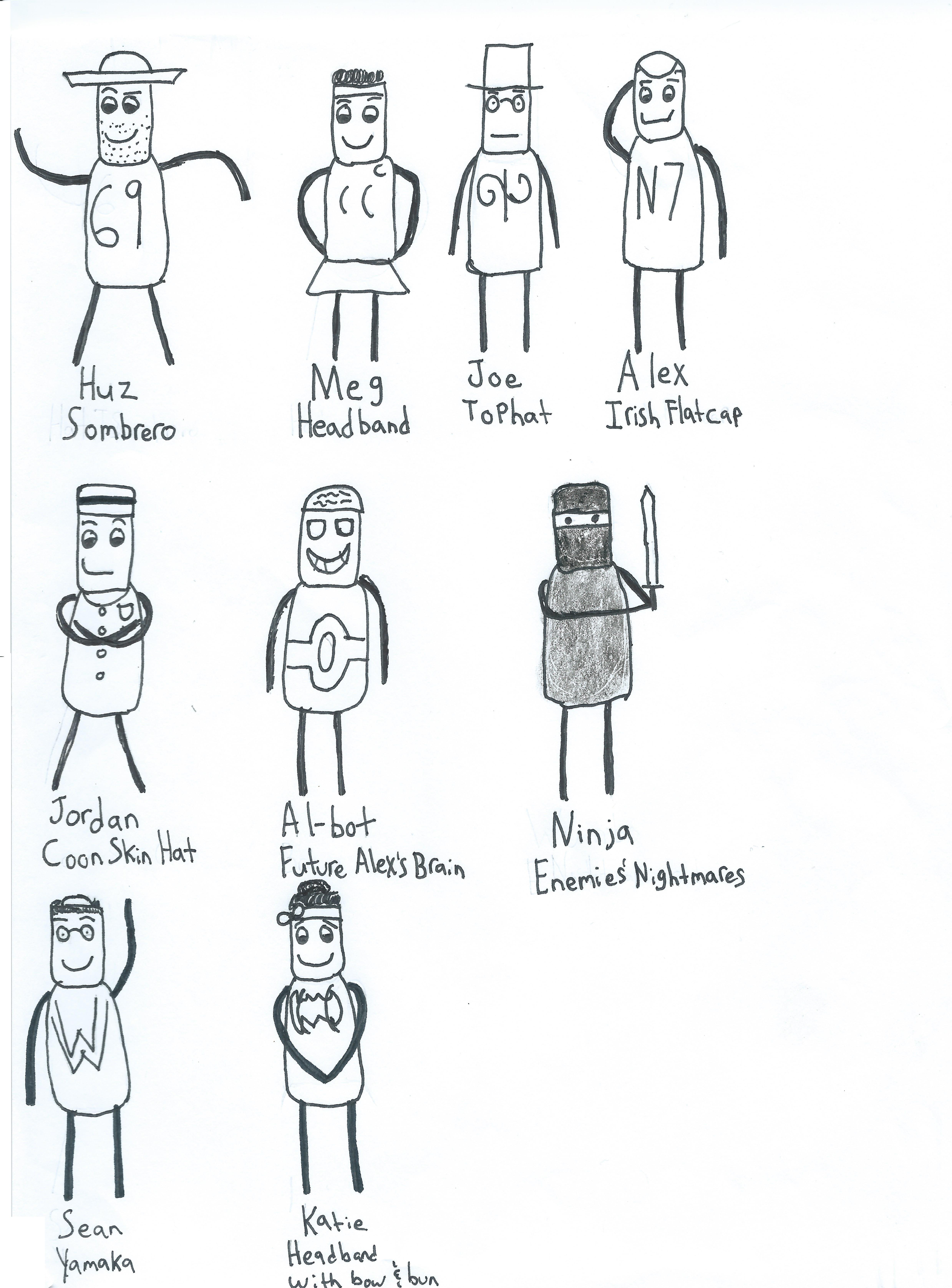 Character List