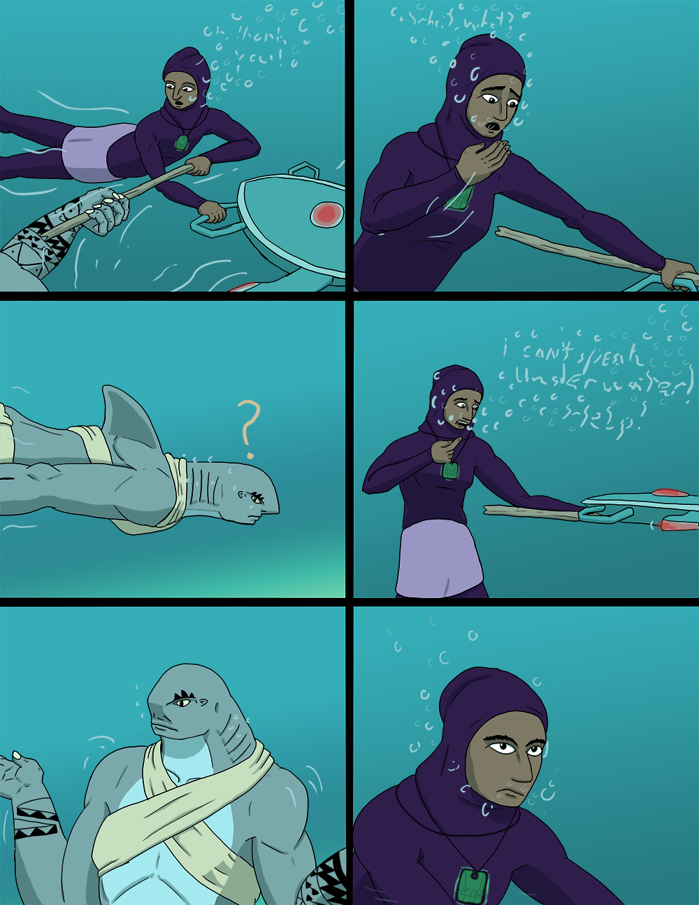 The Wide Ocean - Page 61