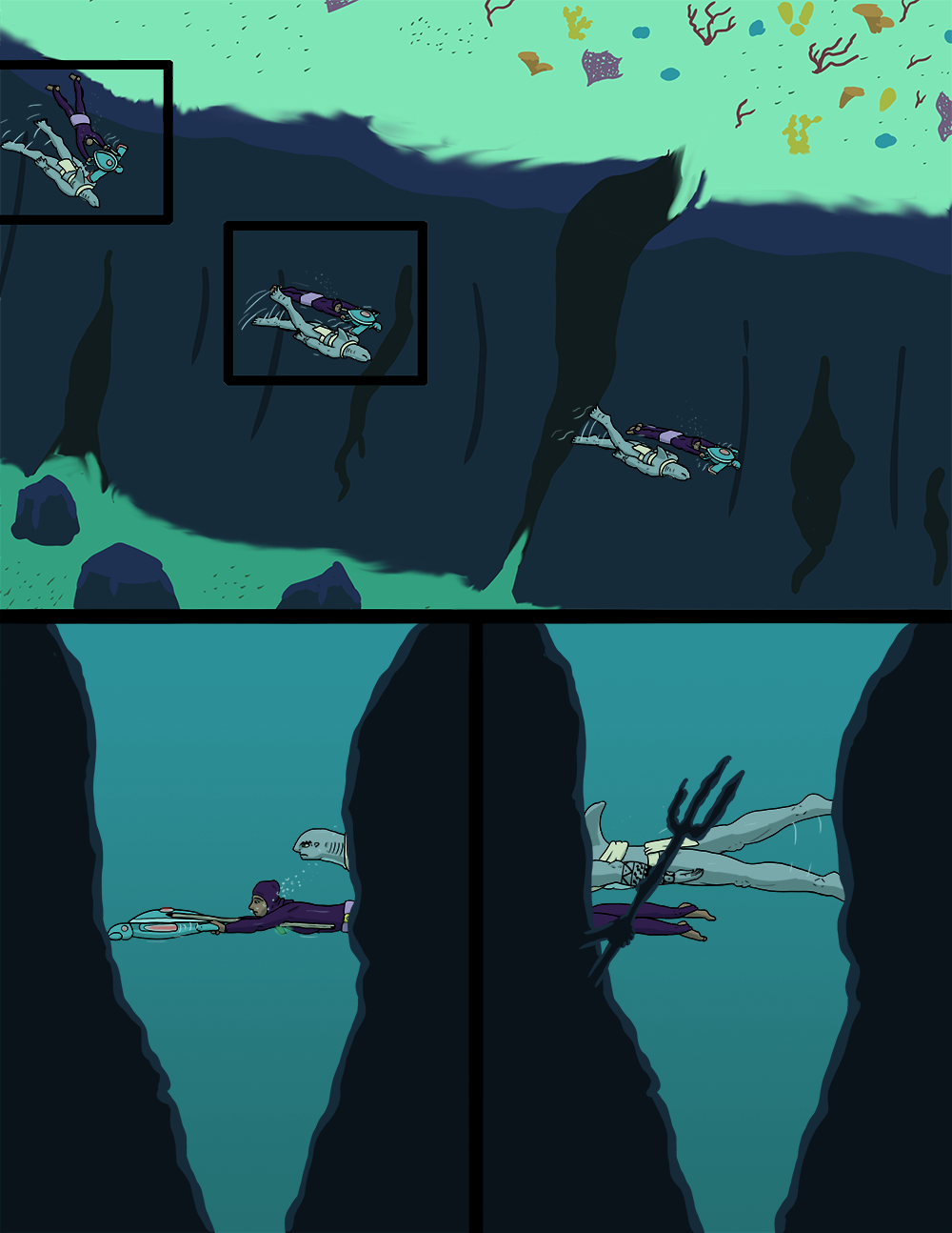 The Wide Ocean - Page 62