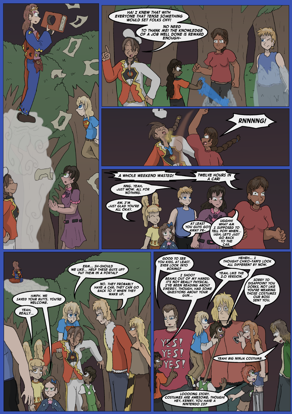 The Lost Spell Of Baron Fontainebleu, Page 38