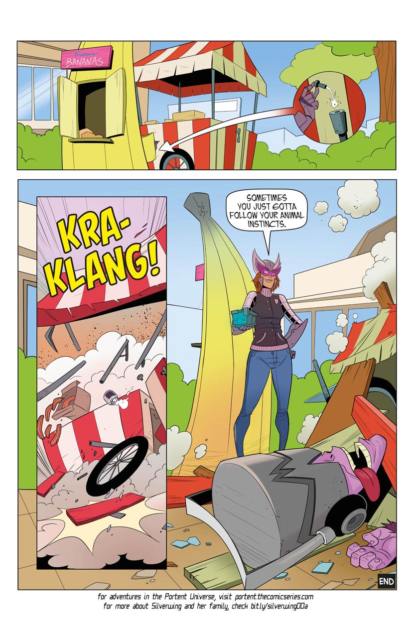 Portent Universe: Silverwing in Monkey Business (Page 10)