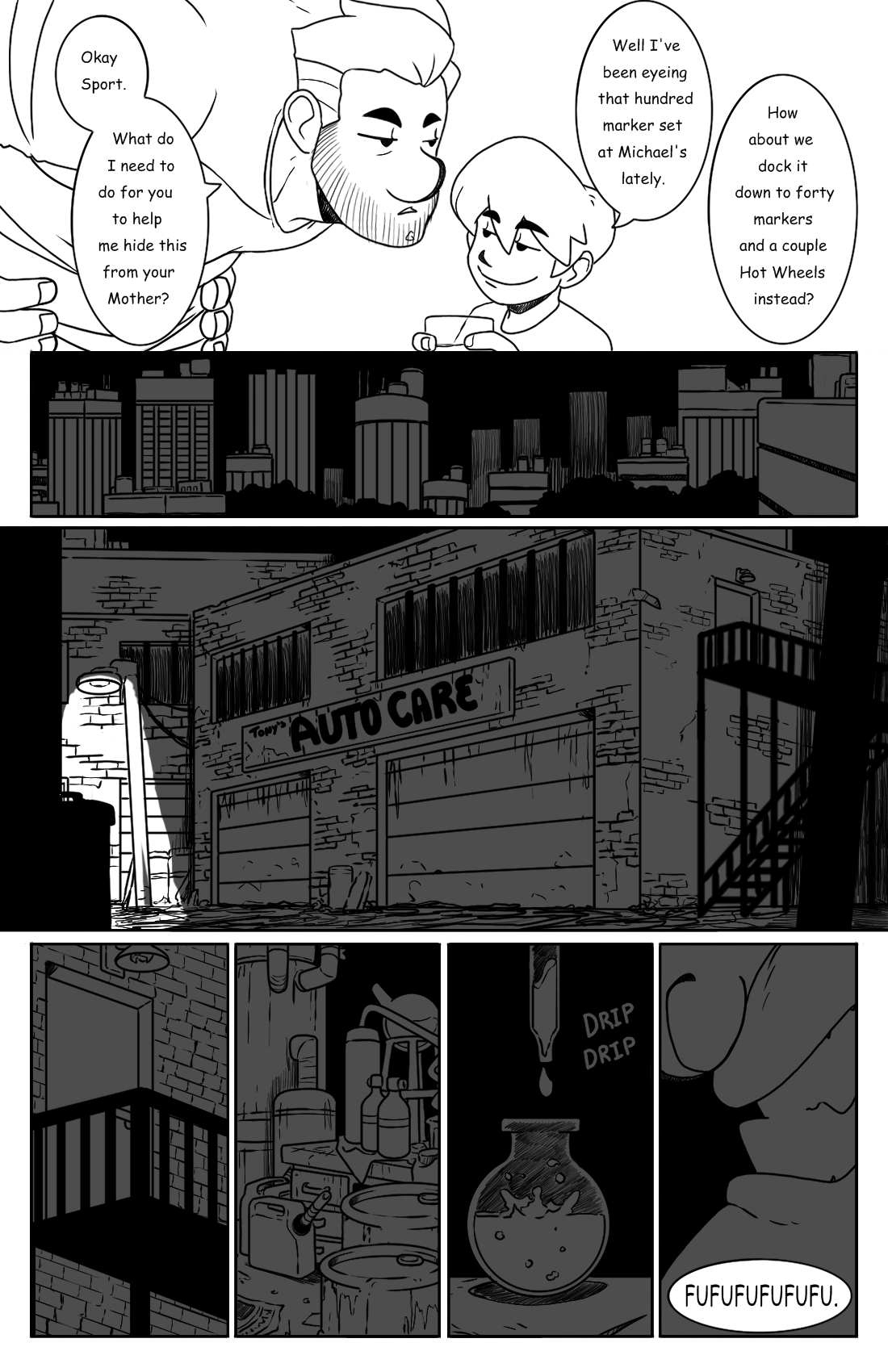 Early Morning Outing pg.11