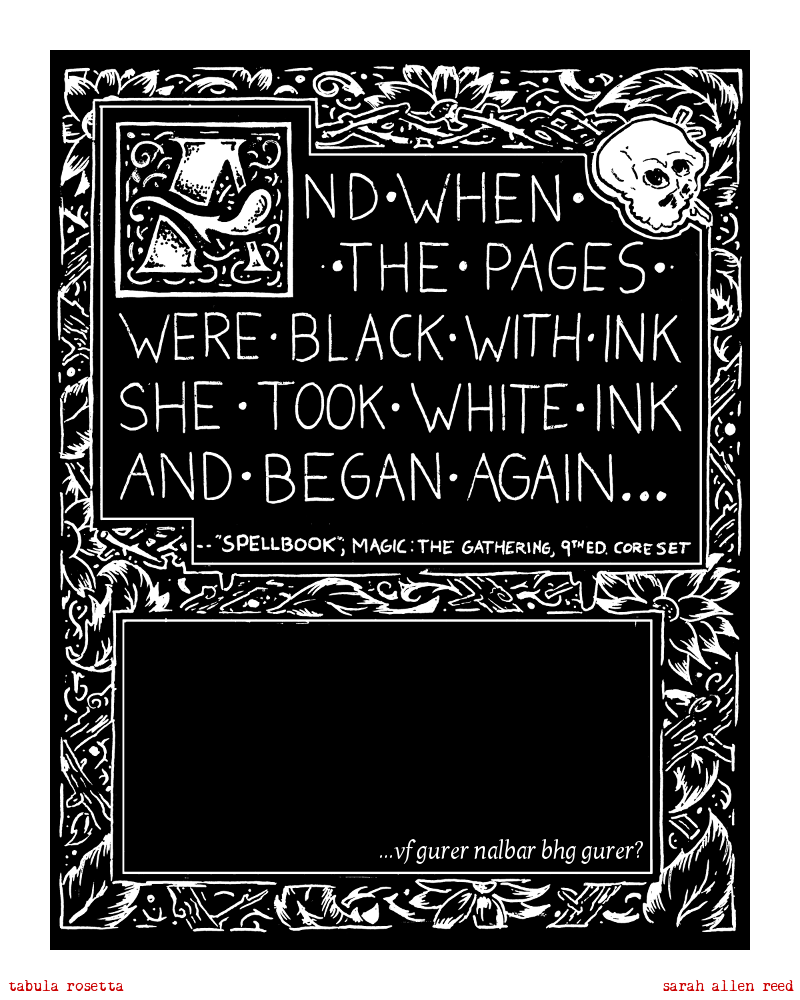 The Spellbook (Introduction From Issue 1)