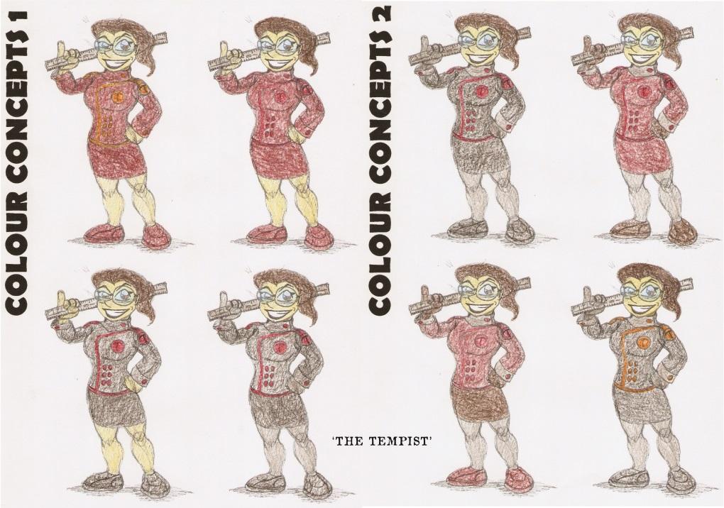 Concept art: The Tempist 3