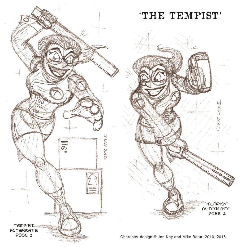 Concept art: The tempist 4