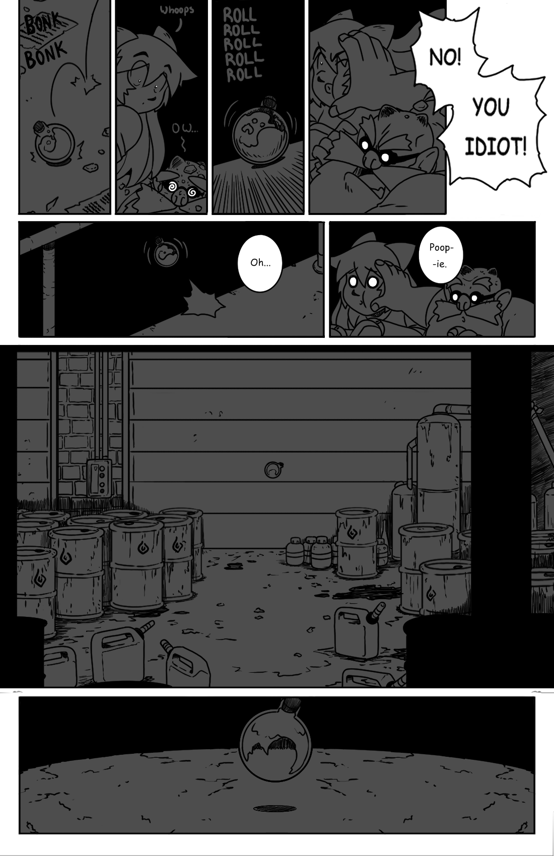 Early Morning Outing pg.17