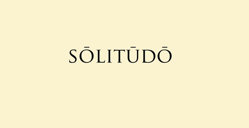sōlitūdō