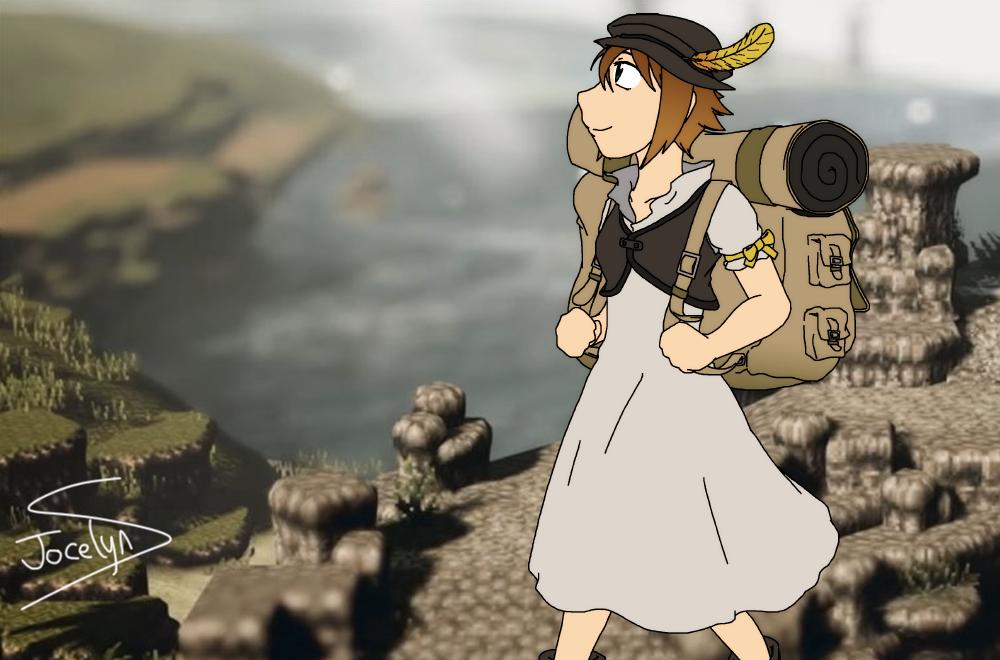 Tressa Travels for Treasure