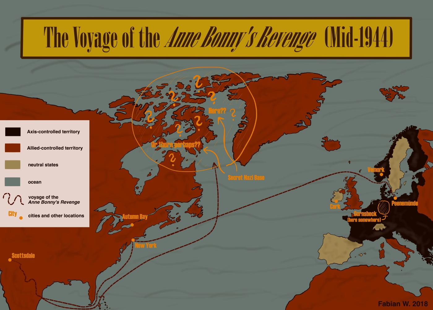 The Voyage of the Anne Bonny's Revenge (Mid-1944)