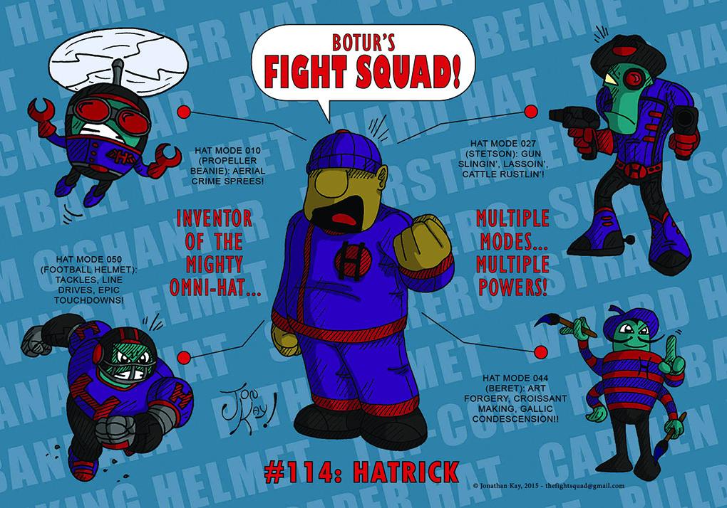 Character profile: Hatrick