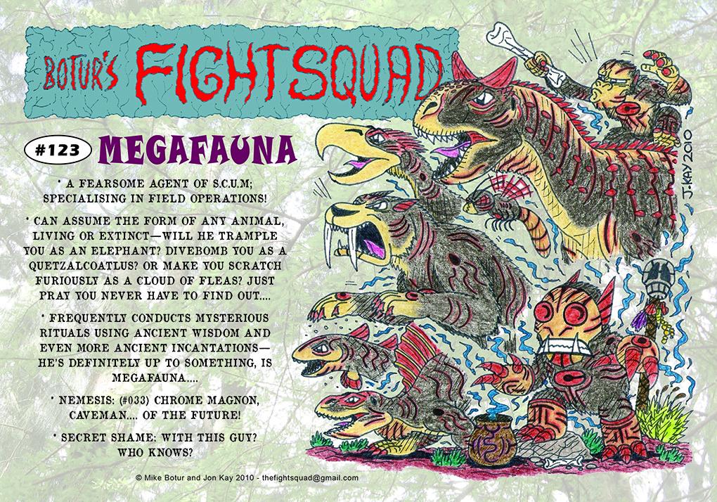 Character profile: Megafauna