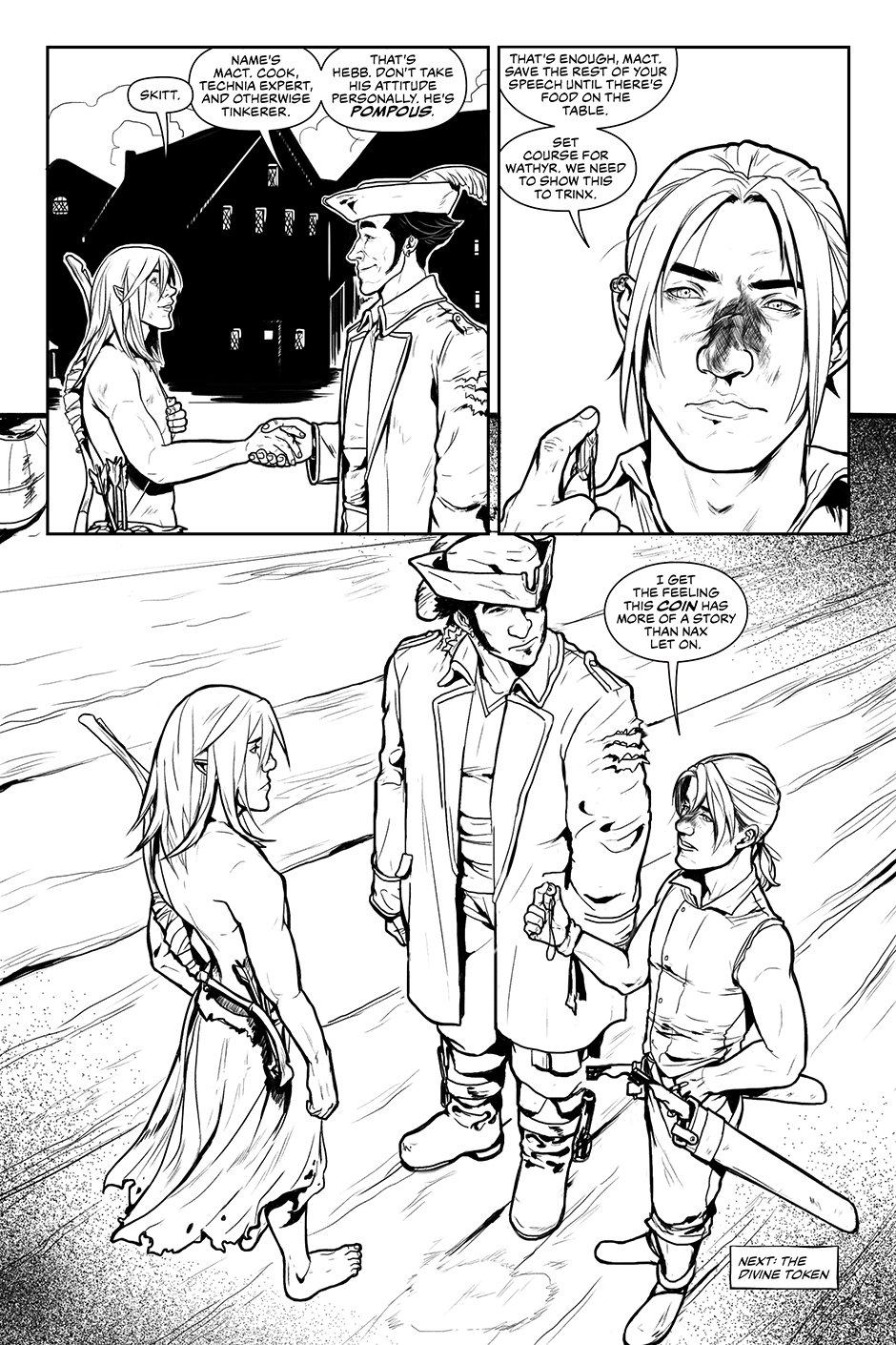 1.40 - End of Issue One