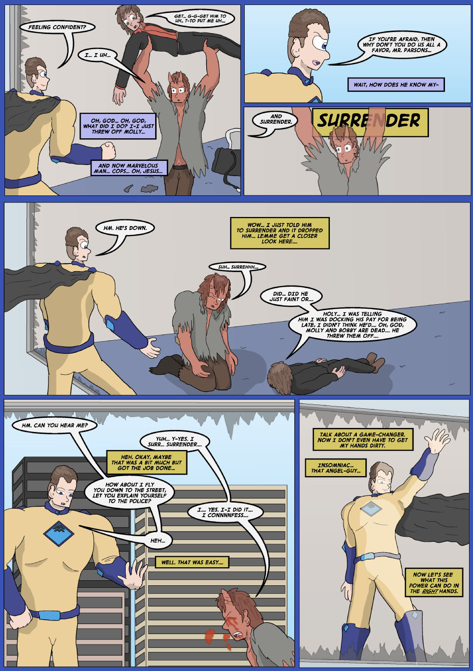 Blue vs. Gold, Page 3