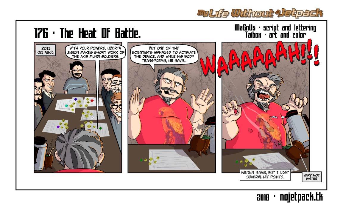 176 - The Heat Of Battle.