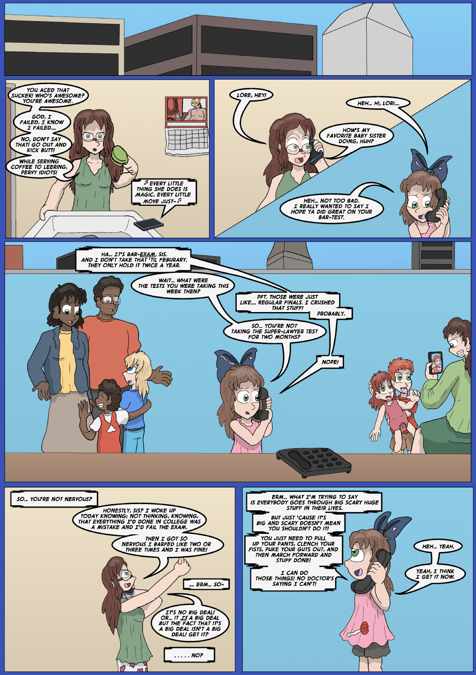 Blue vs. Gold, Page 11