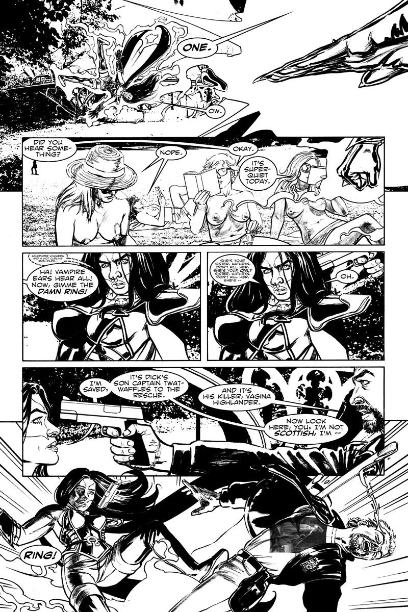 #6, Pg. 14 | Captain Twatwaffles!