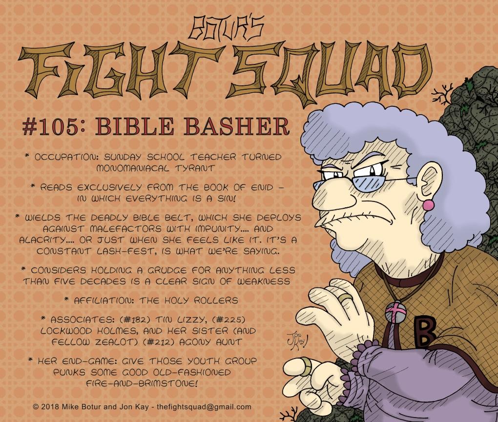 Character Profile: Bible Basher