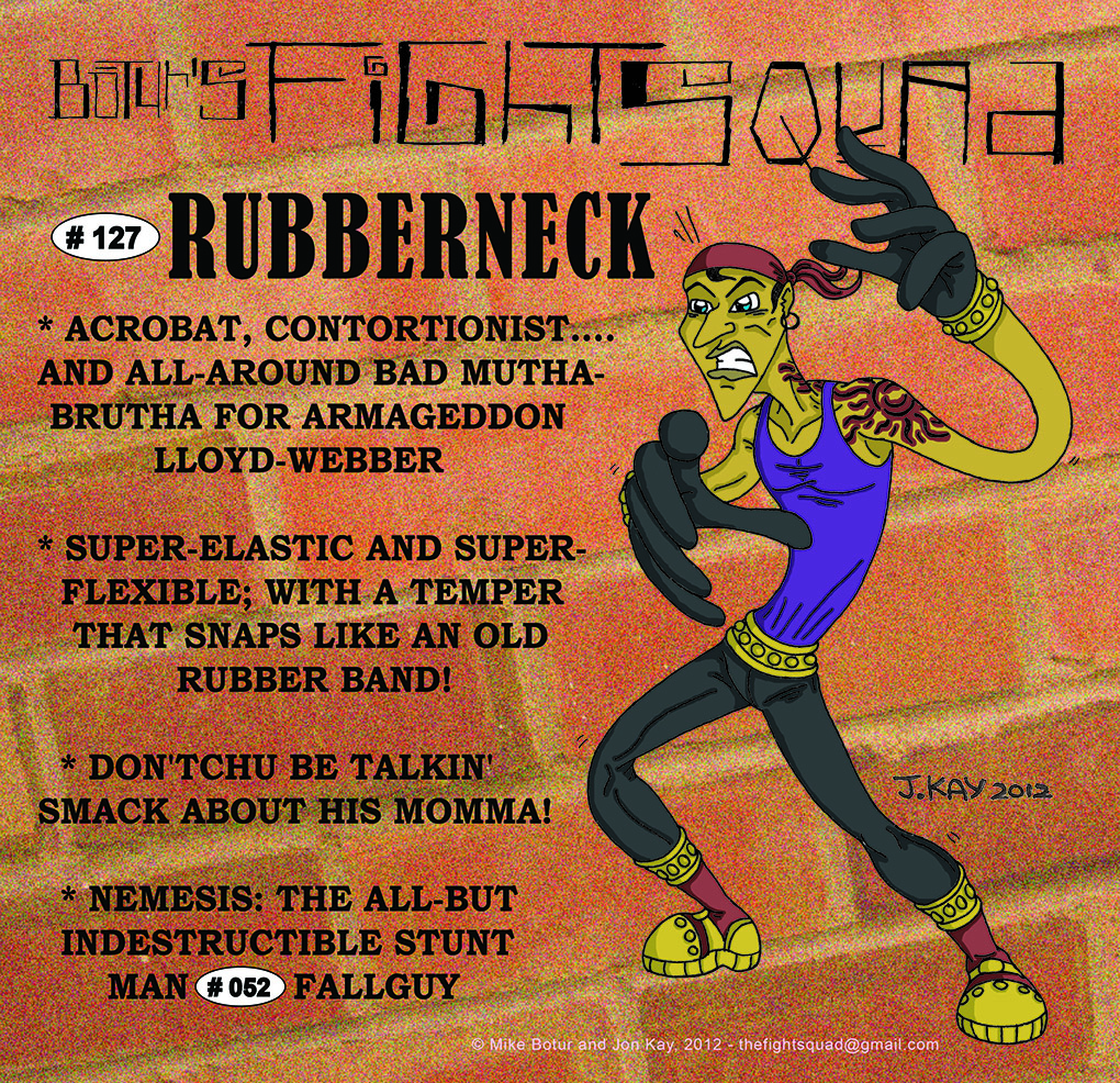 Character profile: Rubberneck