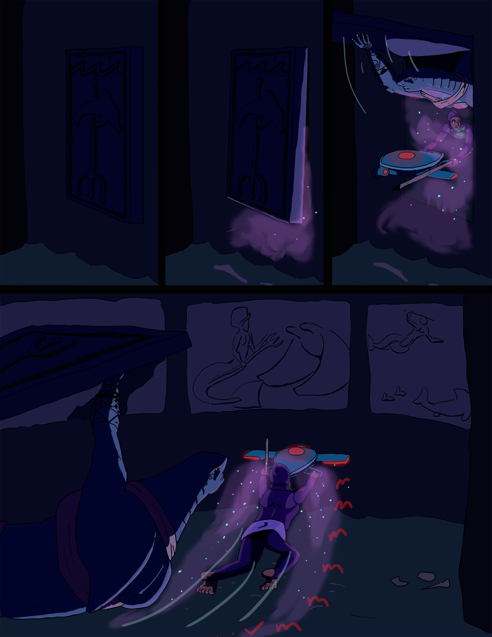 The Wide Ocean - Page 74