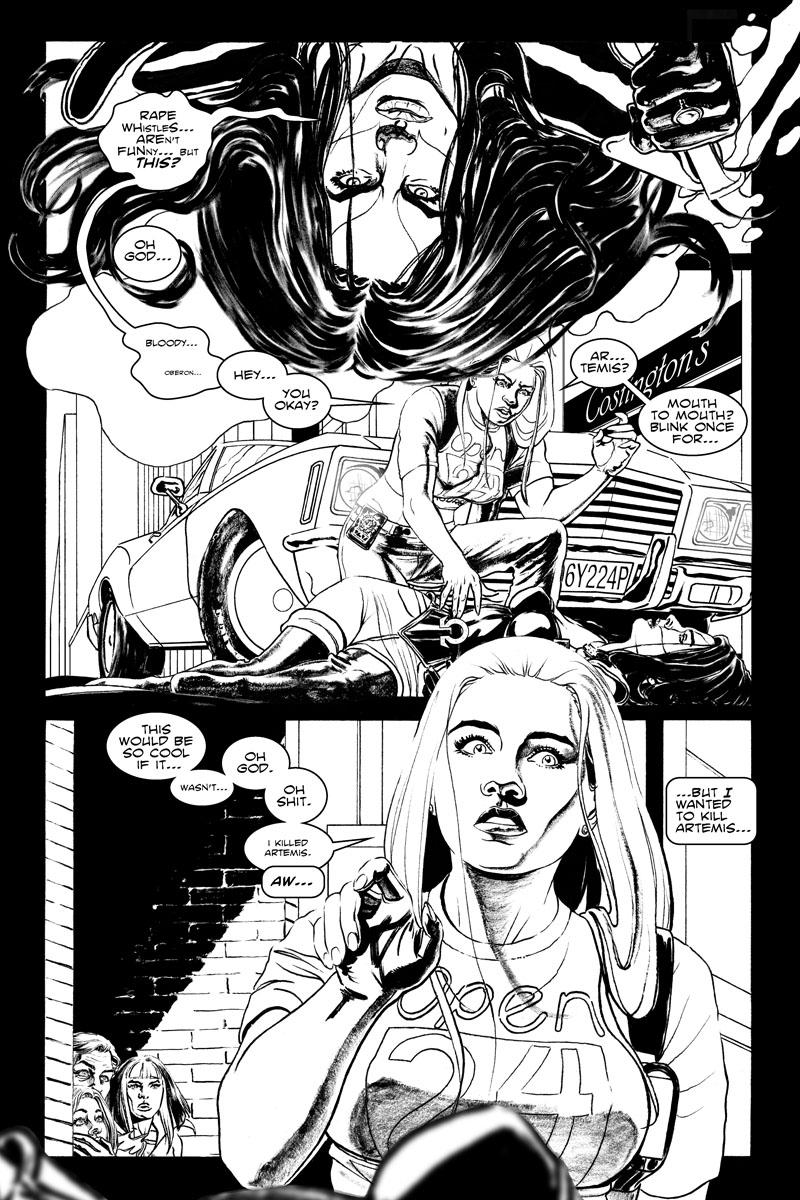 #3, Pg. 18 | I Killed Artemis