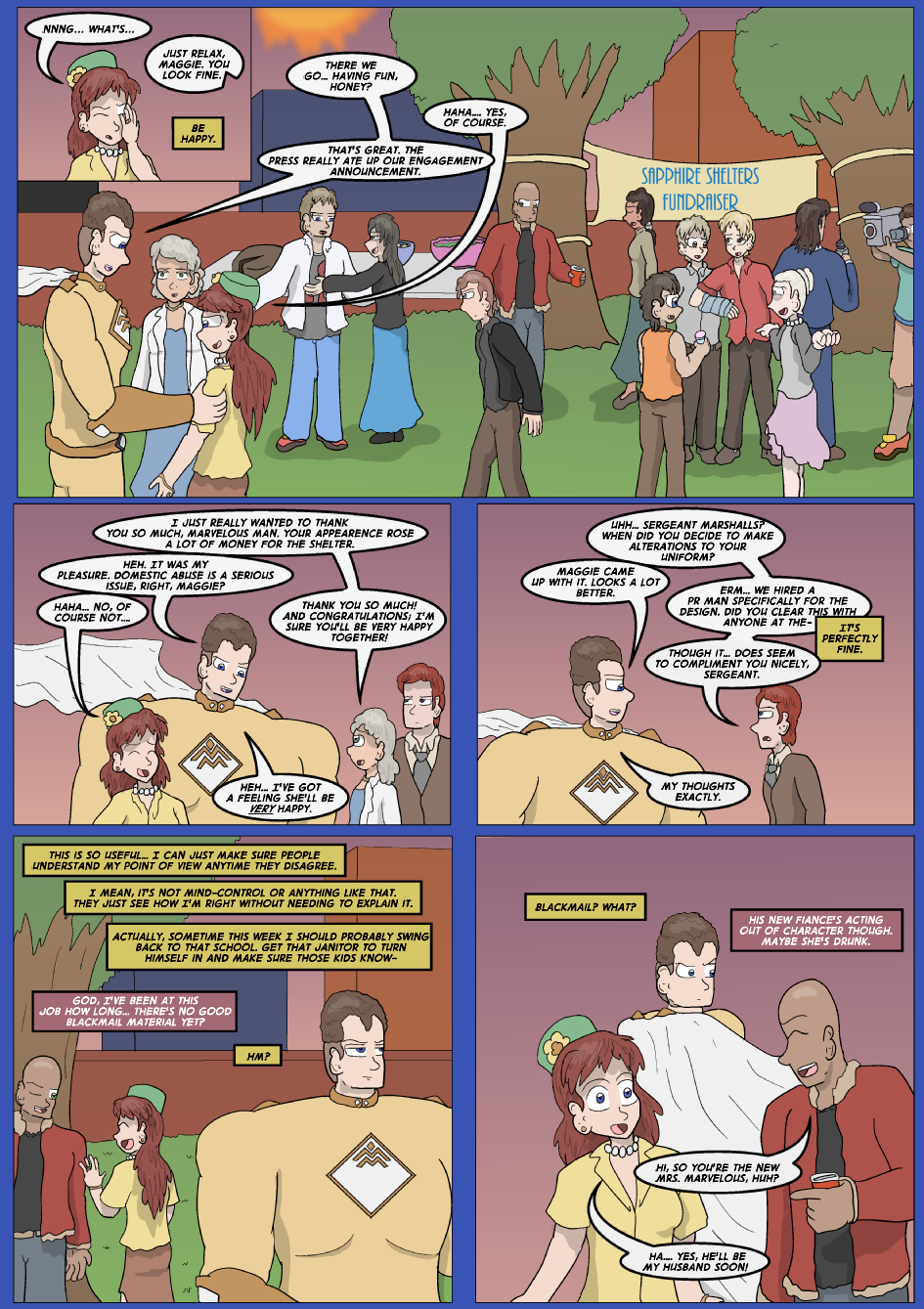 Blue vs. Gold, Page 13