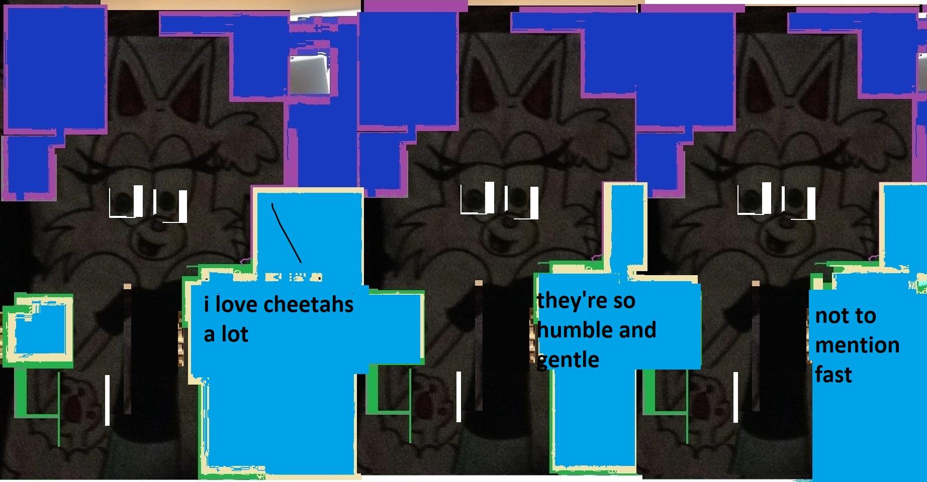 cheetah comic