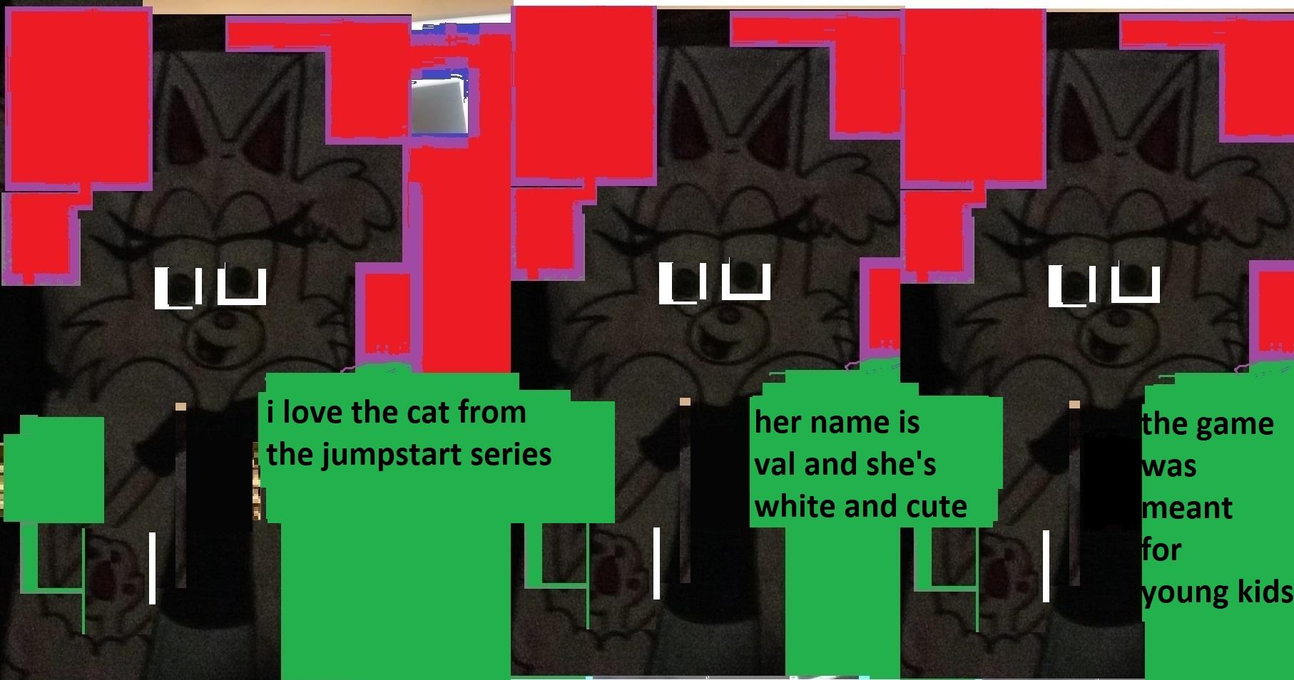 val cat