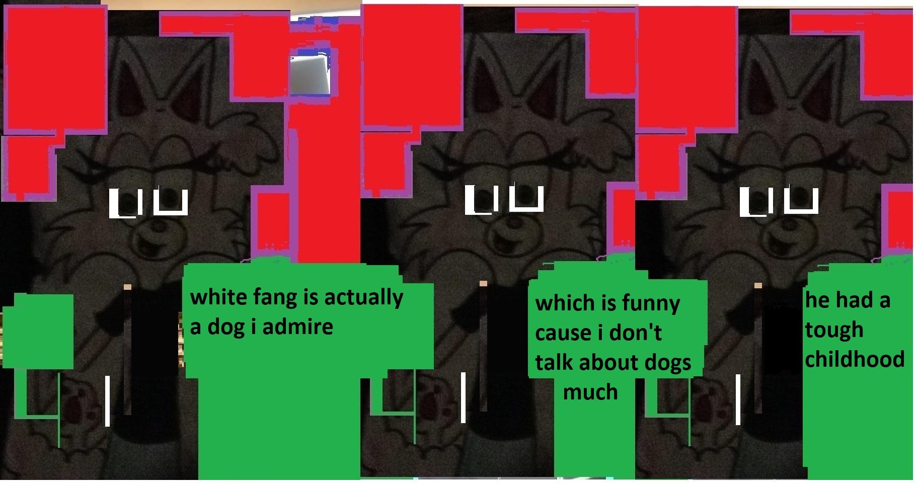 white fang comic