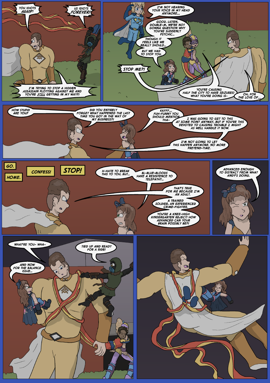 Blue vs. Gold, Page 20