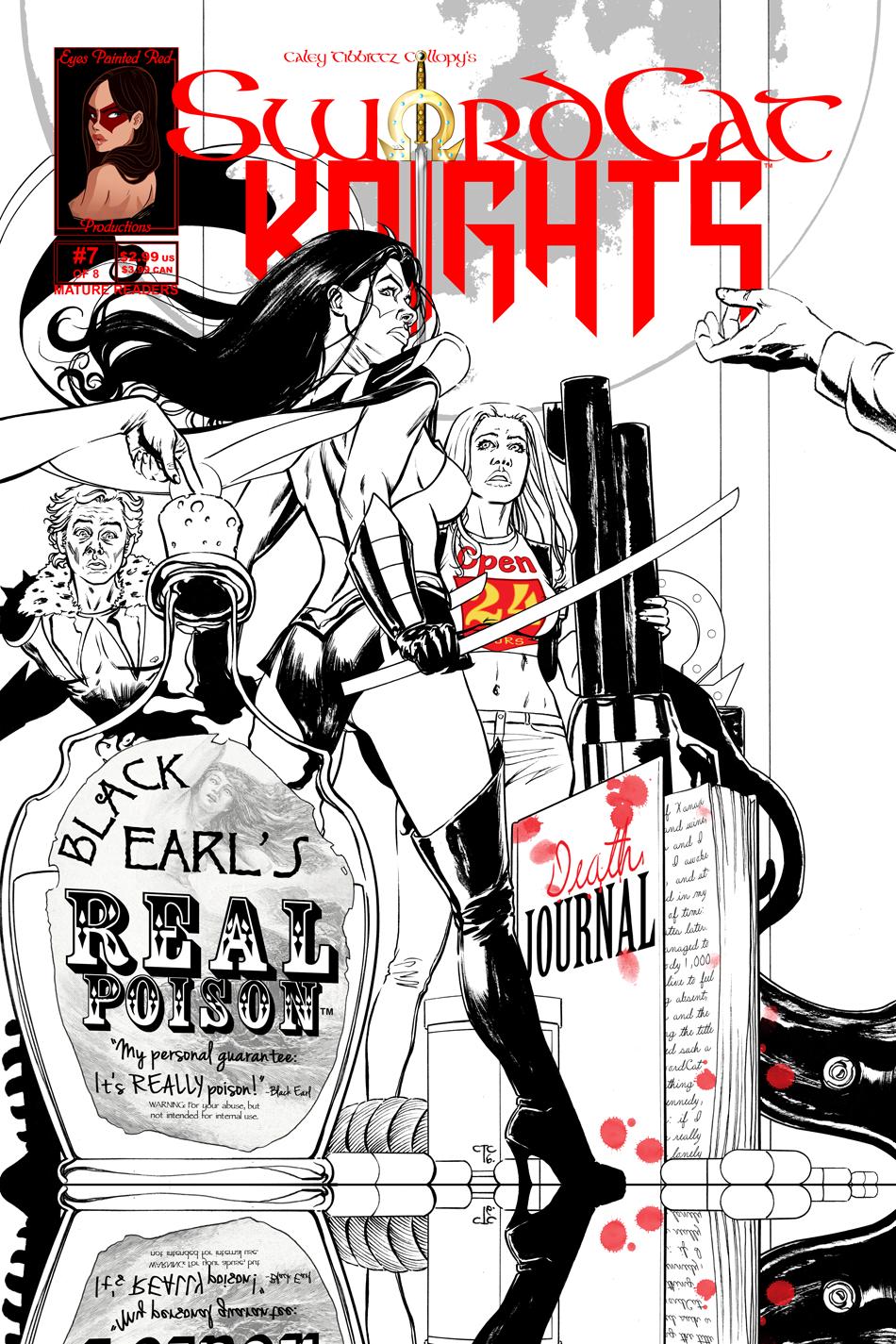 #7 Cover   SwordCat Princess!