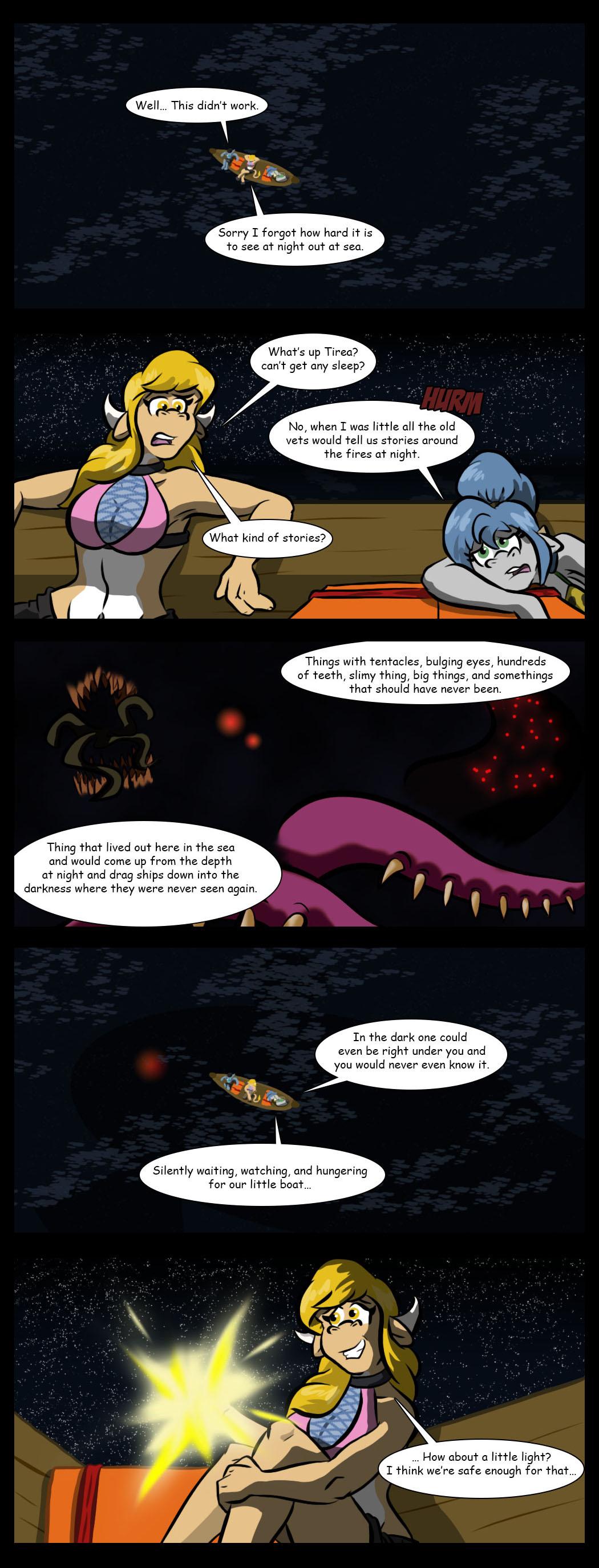 Things in the deep