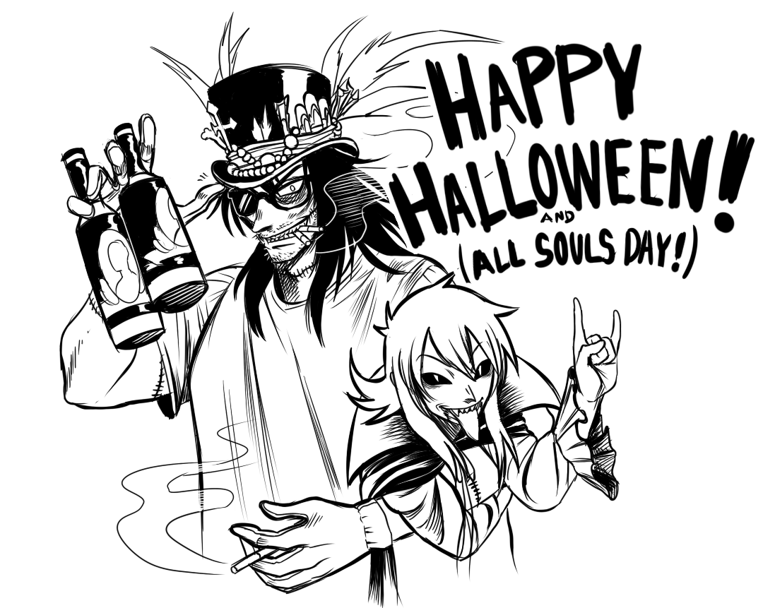 Happy Halloween (and All Souls Day, soon!)