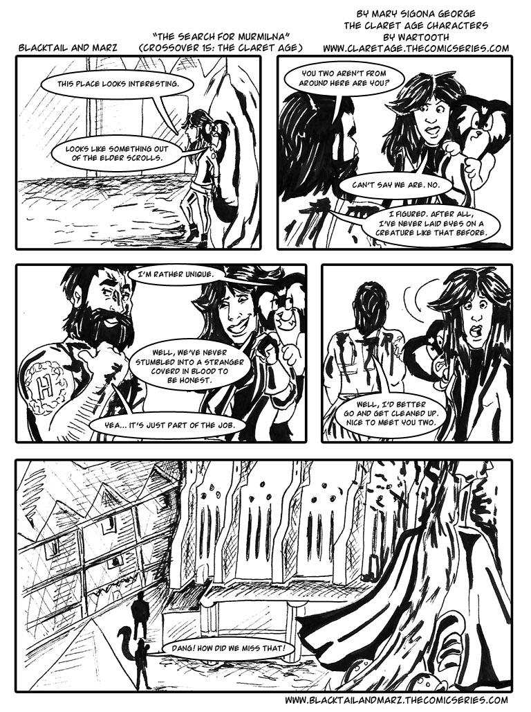 The Search for Murmilna (Crossover 15: The Claret Age)