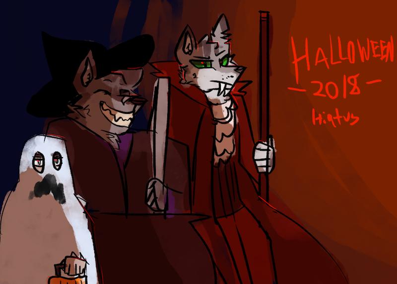 Halloween+Hiatus Announcment