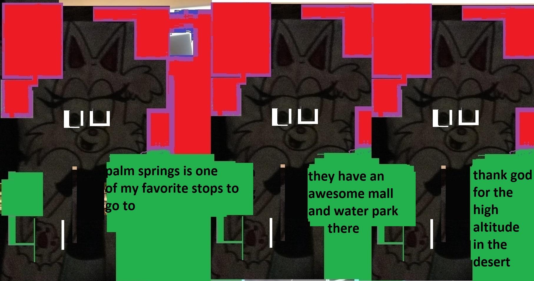 palm springs comic
