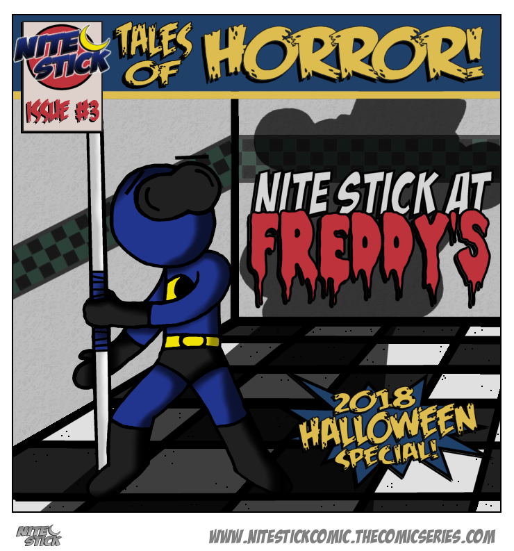 Issue 3: Nite Stick At Freddy's
