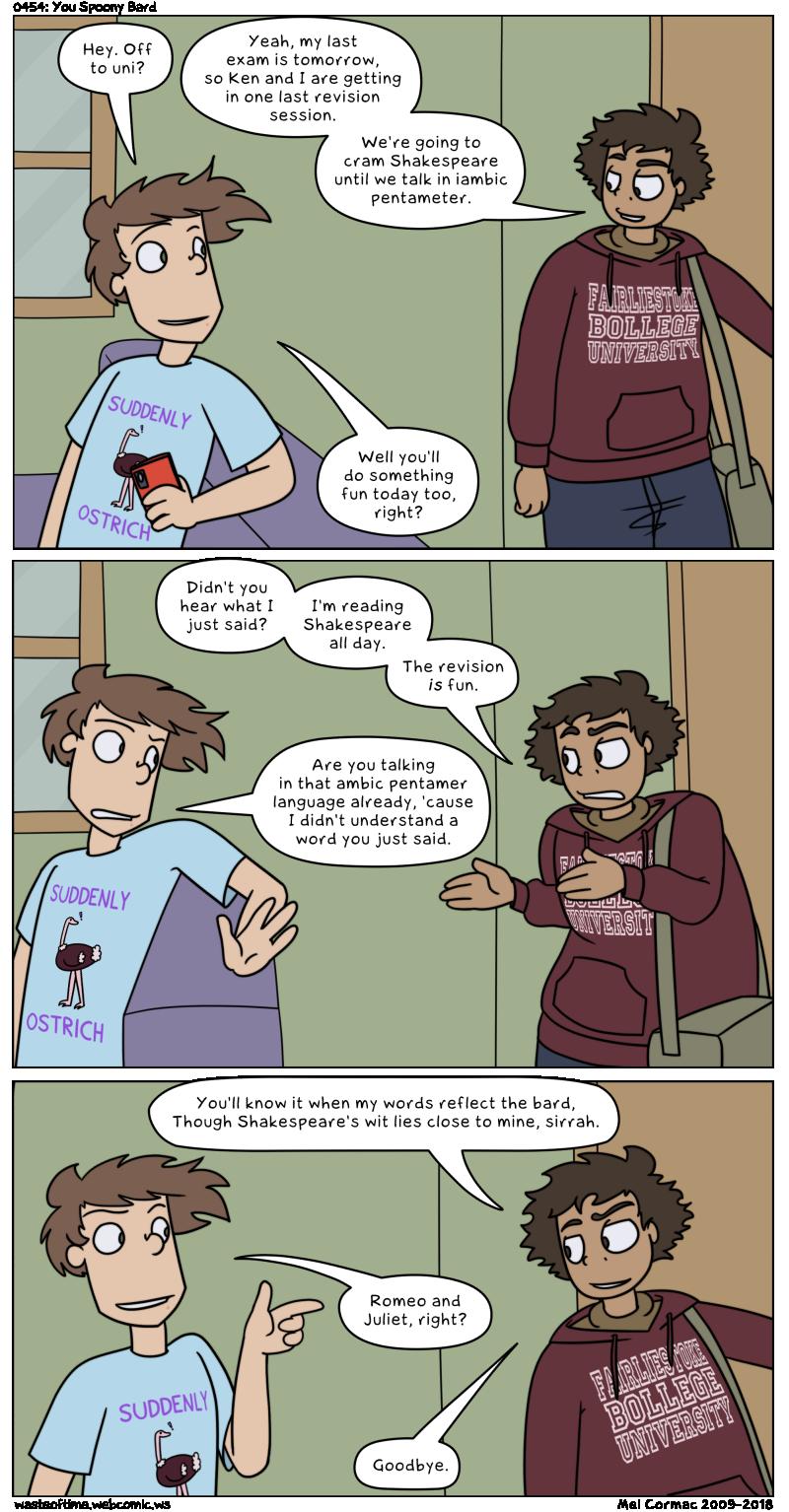 0454: You Spoony Bard