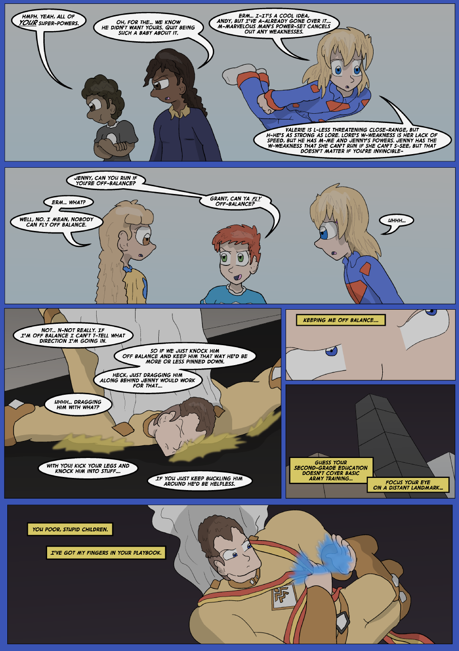Blue vs. Gold, Page 23