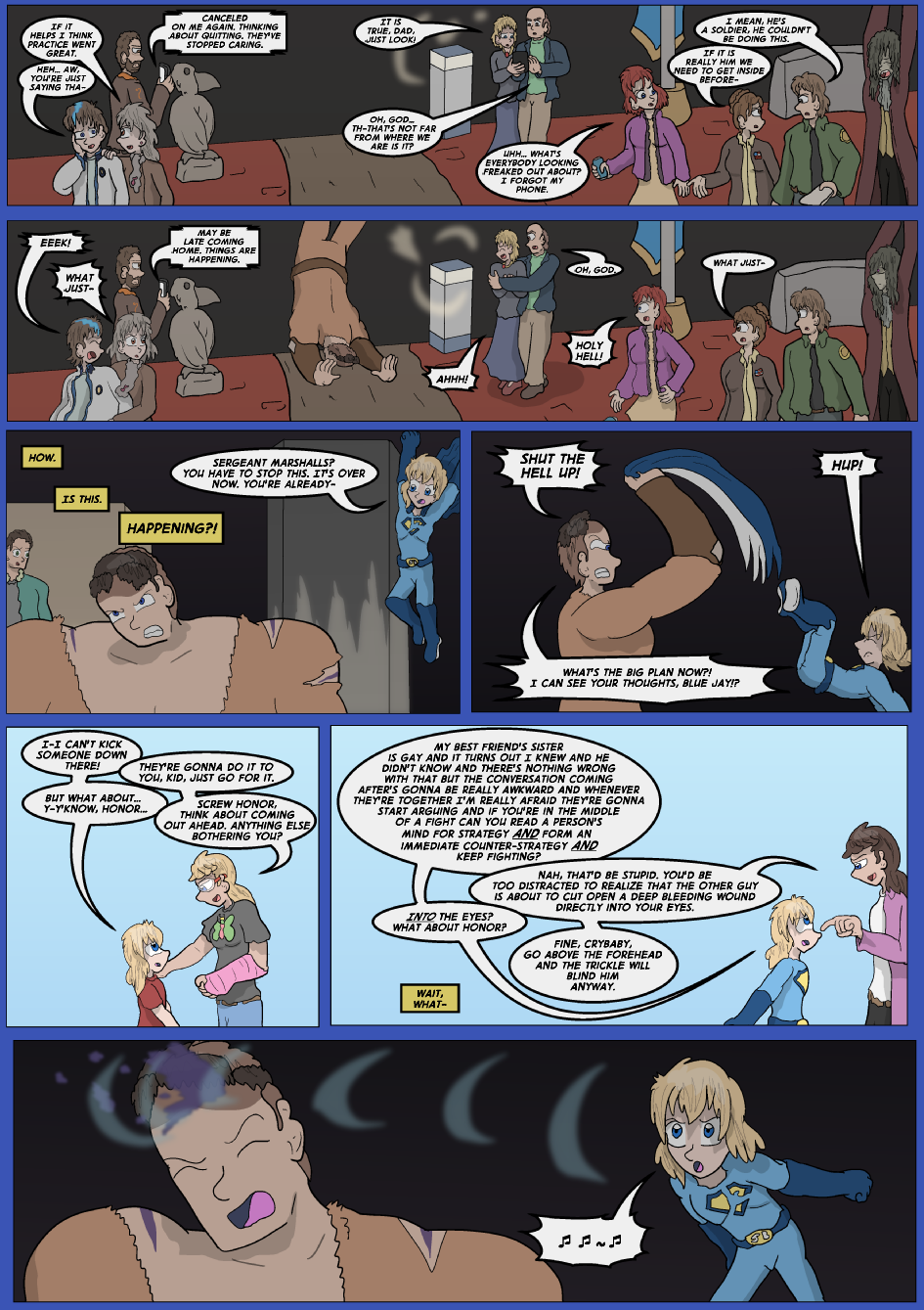 Blue vs. Gold, Page 31