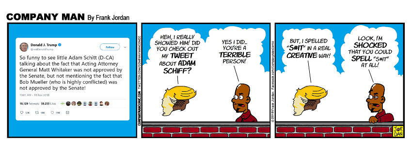 Let me guess, it was a #LockerRoom tweet!? 11/19/18