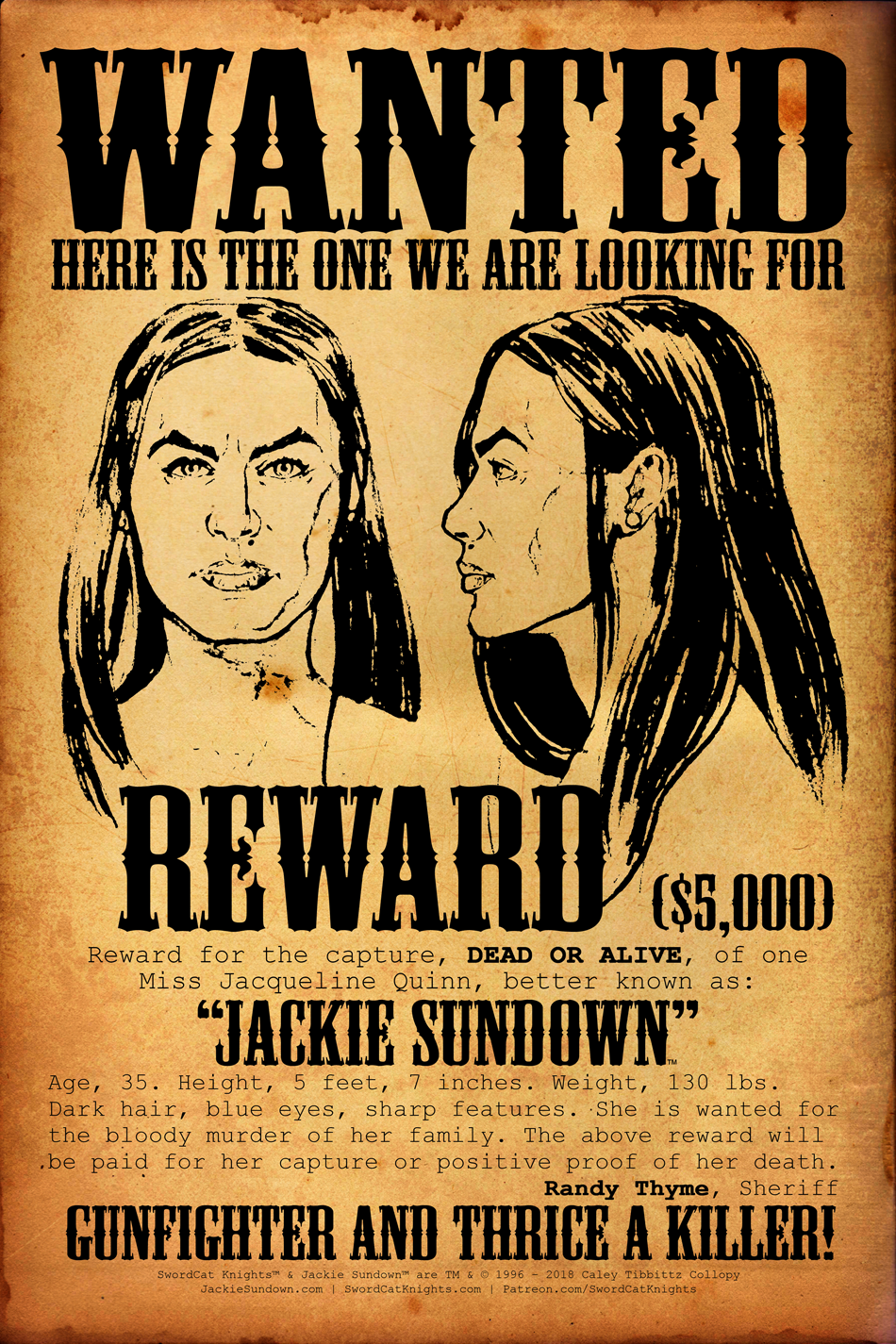 Teaser: Wanted Poster
