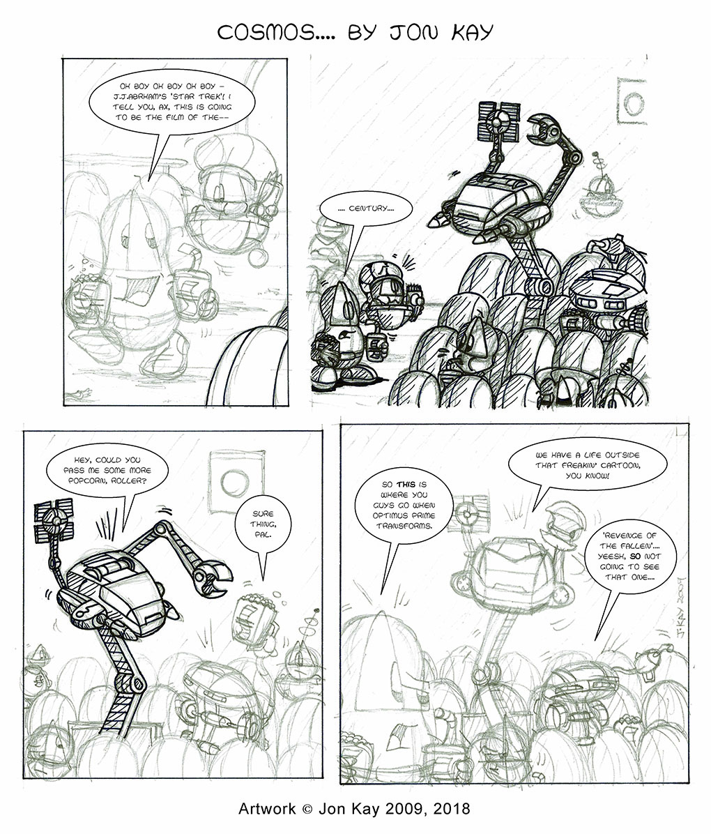 The comic that never was!