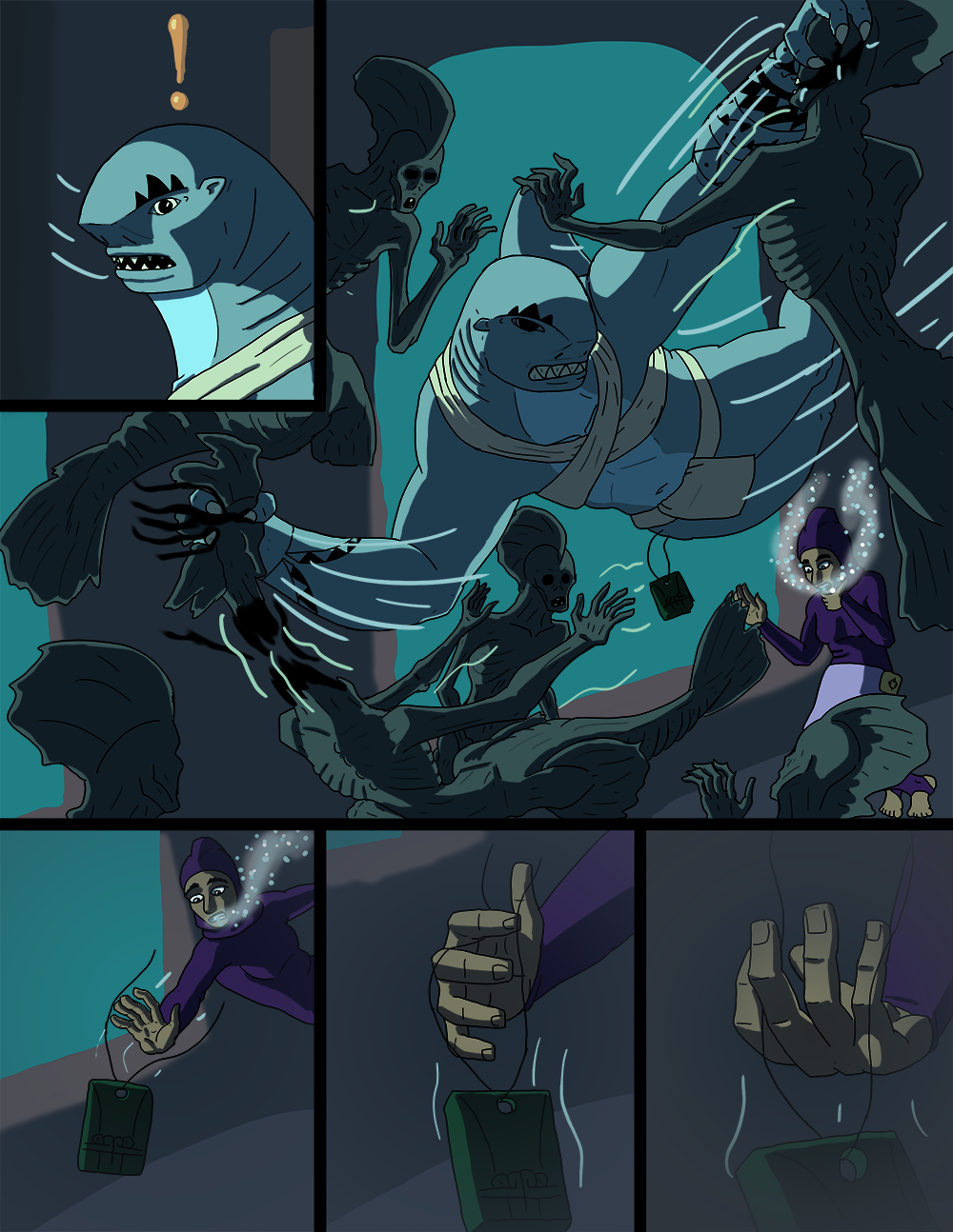 The Wide Ocean - Page 86