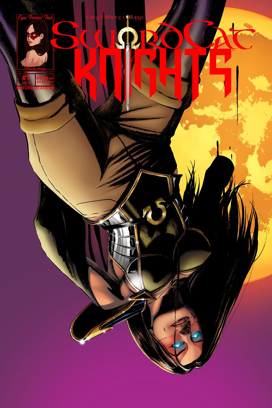 #1 Cover | Suicidal Immortal Superhero