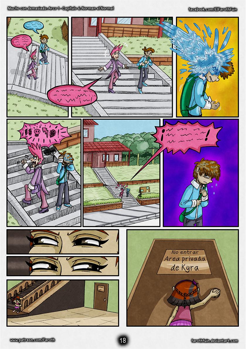 Cap 6 - Pag 18: Escaleras