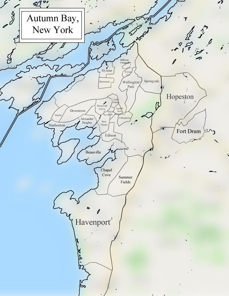 The Greater Autumn Bay Metropolitan Area