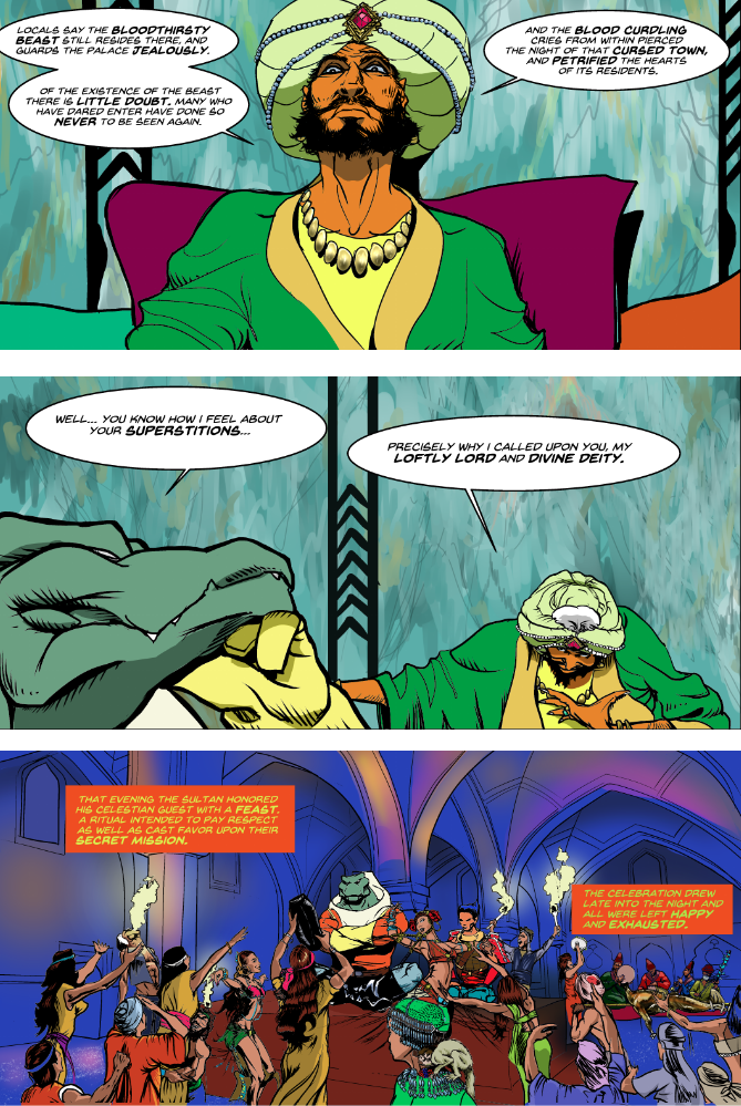 Prince of the Astral Kingdom Chapter 1 pg 68