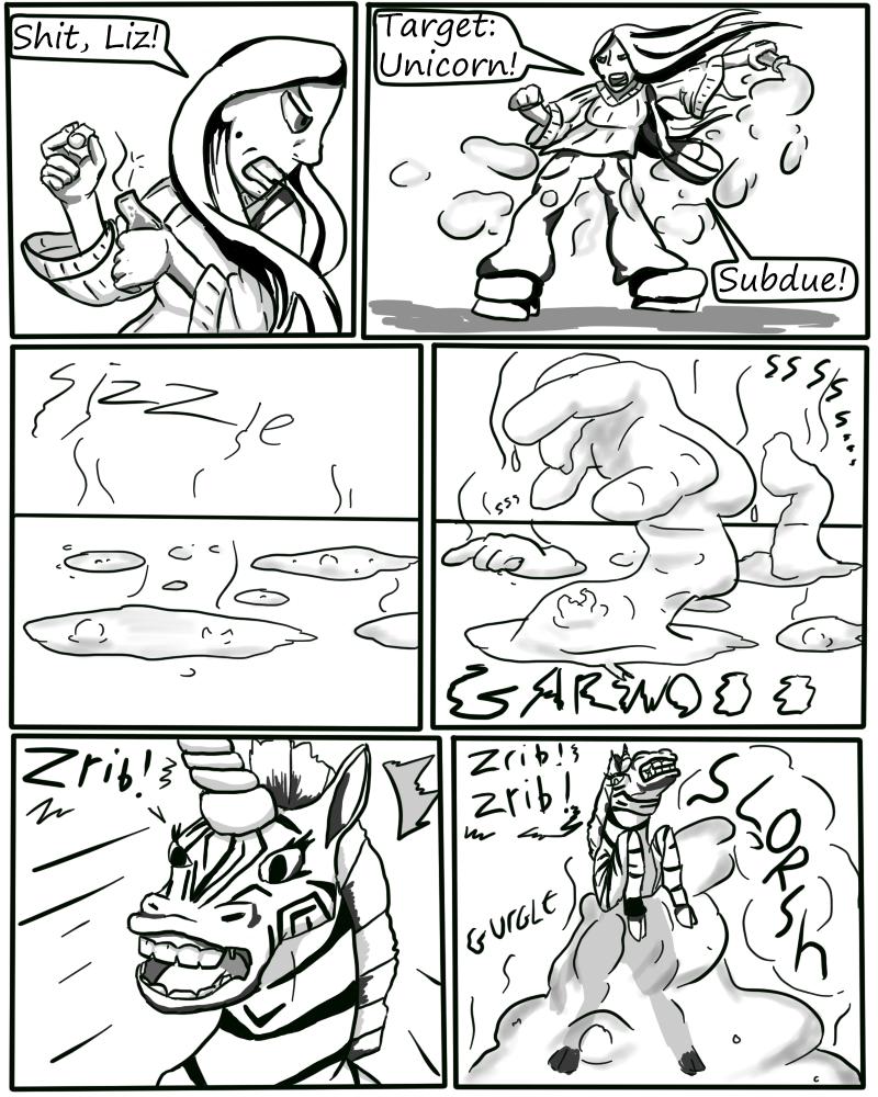Zebracorn page 28
