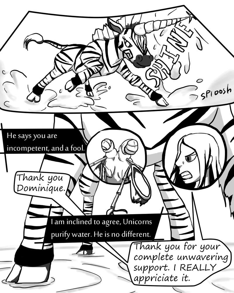 Zebracorn page 29